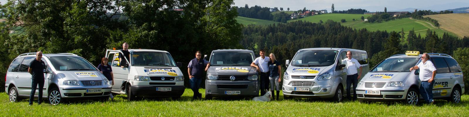 Taxi, Heimbringer, Mietwagen, Transporte - Bezirk Rohrbach, Kleinzell