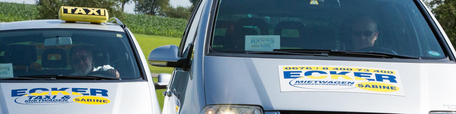 Taxiunternehmen Sabine Ecker, Mühlviertel