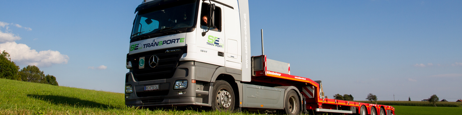 Sabine Ecker Transport - Güter, Sondertransport
